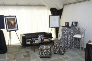 Our Booth at the Once in a Lifetime Wedding Workshop & Design Boutique