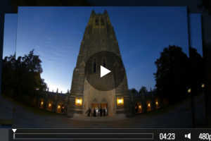 Highlight Reel of Wedding @ Duke Chapel.