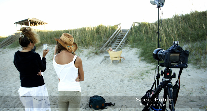 Photo Session at Nags Head (Beach), NC