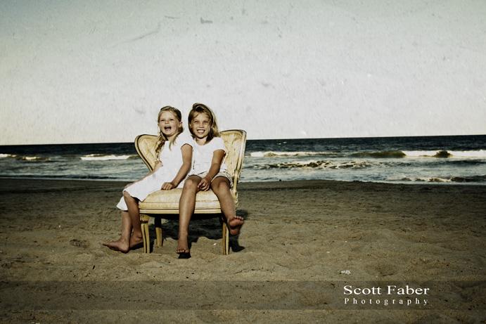 Cousins and Friends at Nags Head (Beach), NC