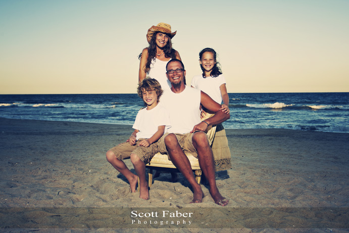 Family Portrait at Nags Head (Beach), NC