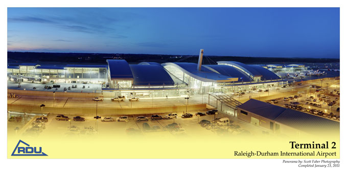 Poster of RDU - Terminal 2 by Scott Faber Photography